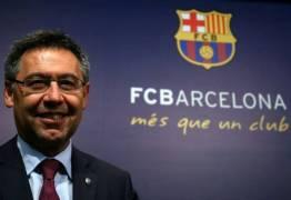 'Neymar não está no mercado', diz presidente do Barcelona