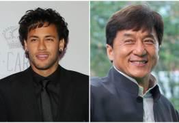 Neymar conversa com Jackie Chan por videochamada: 'Sou fã desse cara'
