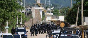 presídio méxico 300x129 - Briga em presídio termina com 28 detentos mortos
