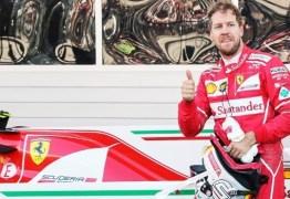 Sebastian Vettel afirma que contou com a sorte para vencer GP da Austrália