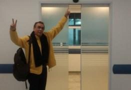 Walter Santos tem alta do INCOR e antes recebe telefonema de Lula