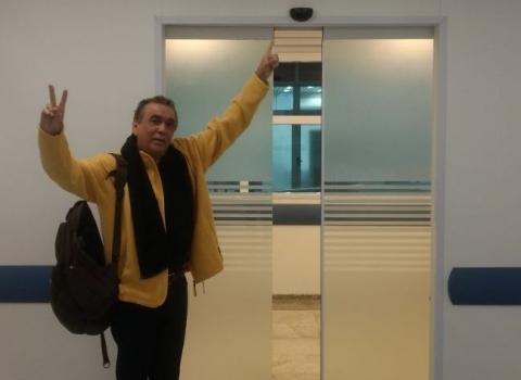 walter santos - Walter Santos tem alta do INCOR e antes recebe telefonema de Lula