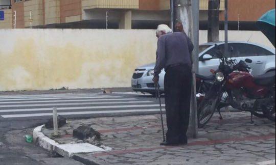 """20751321 1535926496463511 1742236533 n e1502459023103 - VERDADE OU MENTIRA? Polícia da Paraíba encontra idoso apontado como """"isca"""" para crimes - VEJA VÍDEO E FOTOS"""