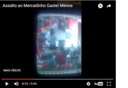 Bandido armado rende funcionária e assalta mercadinho na Paraíba – VEJA VÍDEO