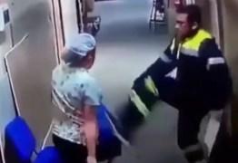 VEJA VÍDEO – Paramédico chuta a barriga de enfermeira grávida em hospital