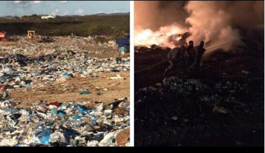 fogo - PESSOAS PASSAM MAL: Incêndio criminoso em lixão de Patos mobiliza PM e autoridades - VEJA VÍDEO