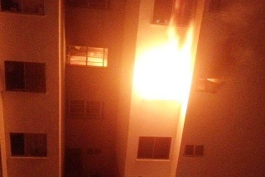 incendio - Incêndio criminoso deixa várias pessoas feridas em João Pessoa entre elas 3 bebês