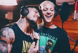 Pabllo Vittar e Lucas Lucco gravam clipe de 'Paraíso' na Bahia