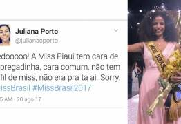 Miss Brasil 2017 é alvo de racismo nas redes: 'tem cara de empregadinha'