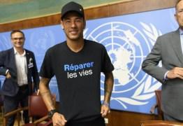 COMBATE AO RACISMO: 'Somos todos iguais', diz Neymar em evento na ONU