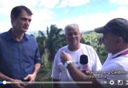 Romero fala sobre política e pleito de 2018 em Serraria – VEJA VÍDEO