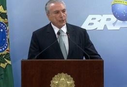 ESCÁRNIO: Temer demite 10 ministros para se salvar