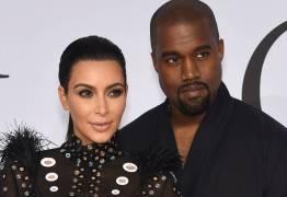 Kim Kardashian e Kanye West aguardam chegada do terceiro filho