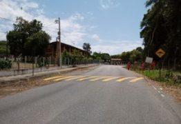Semob-JP conclui serviço de sinalização viária no bairro Castelo Branco