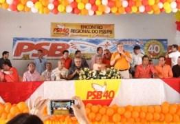 Durante encontro do PSB, políticos e filiados fazem moção de apoio a João Azevedo