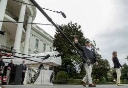 Trump visita Flórida após passagem do Furacão Irma