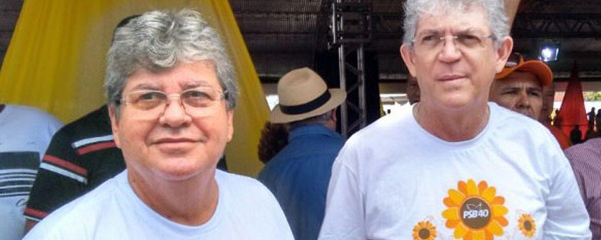 João Azevedo Ricardo 1 1200x480 1 - A rearrumação da oposição, a consolidação do nome de João Azevedo e a renovação para o Senado - Por Rui Galdino