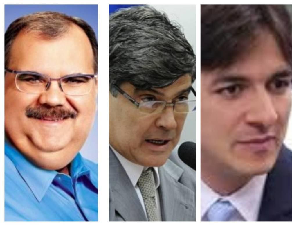 """Untitled collage e1504604176499 - DIAP: Três parlamentares paraibanos estão em """"ascensão"""" no congresso nacional em 2017"""