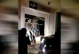 Bandidos explodem agência dos Correios da cidade de Soledade