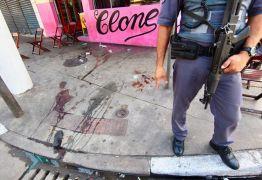 VEJA VÍDEO: Travesti é assassinada a tiros no Centro de Santos