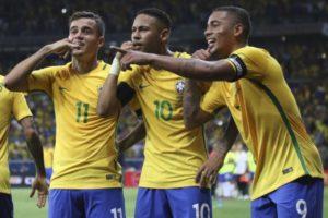 gol seleção 300x200 - Brasil teria garantido vaga apenas com os jogos de Tite à frente da Seleção