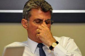 jucá preocupado 300x199 - PMDB inicia a busca por parcerias para 2018 e lideranças nordestinas se aproximam de Lula