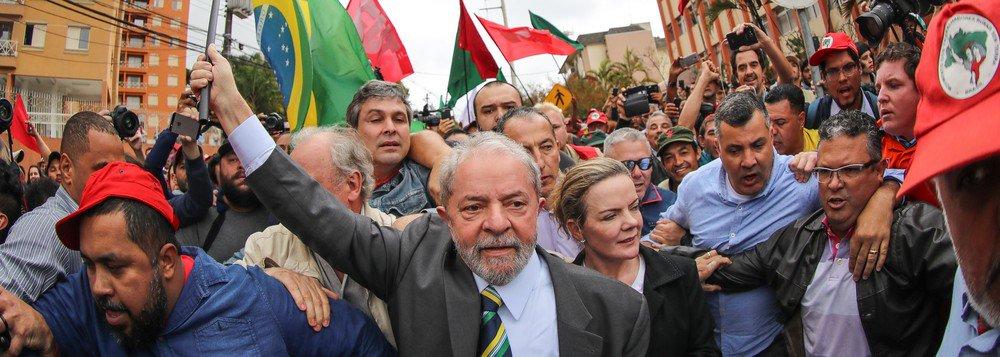 lula depoimenro - Lula será recebido por multidão em Curitiba para novo depoimento a Moro