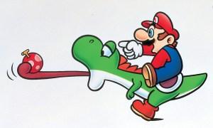 mario 300x180 - Nintendo revela que Mario realmente socava Yoshi em Super Mario World