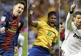 Neymar está entre os 3 finalistas do prêmio de melhor jogador do mundo