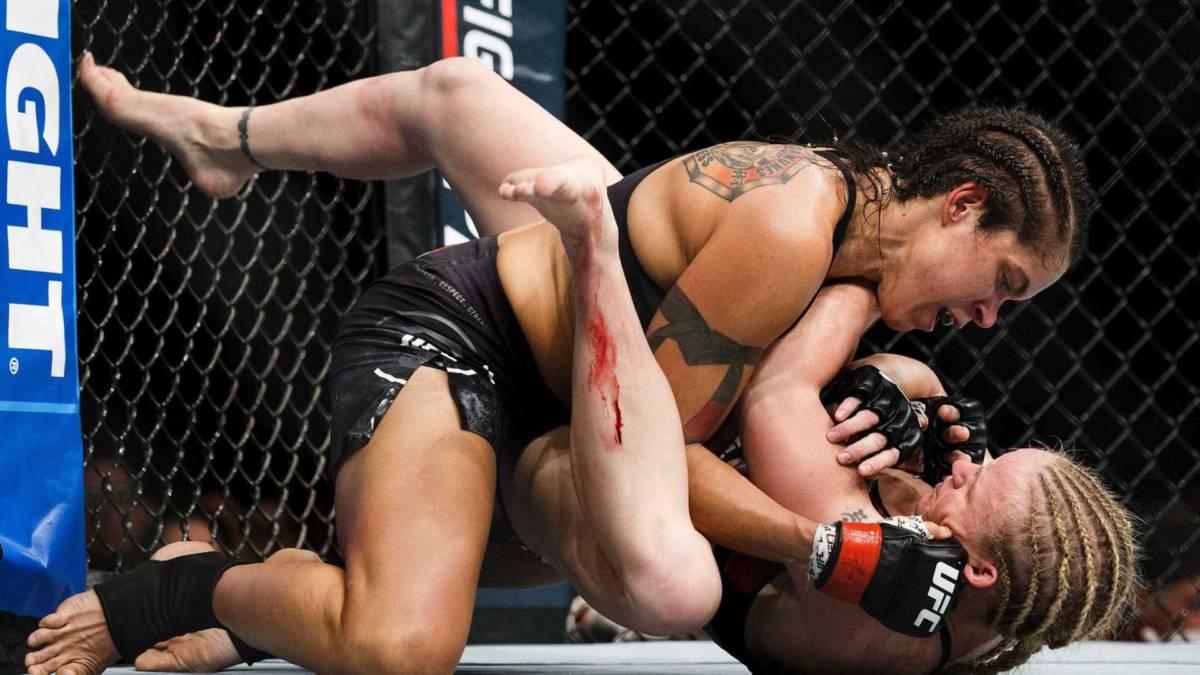 naom 59b50564a559b - Amanda Nunes vence por decisão e mantém cinturão do UFC