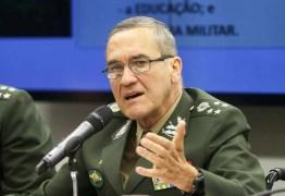 """RECADO? """"Exército repudia impunidade e se mantem atento à sua missão institucional"""", diz General Villas Boas"""