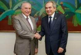 Lira se reúne com Temer no Jaburu e discute adicional ao FPM