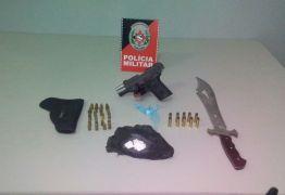 Polícia apreende arma e munições durante ação em Bayeux
