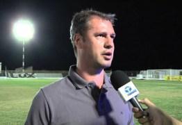 Ex-Campinense será auxiliar técnico de Oliveira Canindé no Treze, que anuncia lateral direito