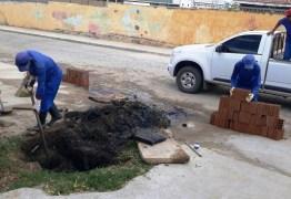 Prefeitura de Patos continua a recuperar galerias em toda a cidade