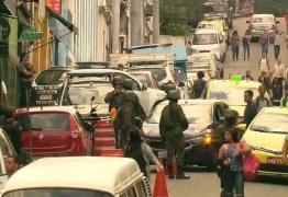 Forças de segurança realizam operação em morros do Centro do Rio