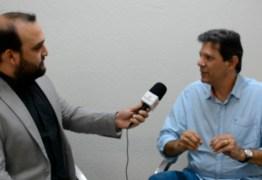 ENTREVISTA EXCLUSIVA: Haddad admite que está percorrendo o país a pedido do ex-presidente Lula