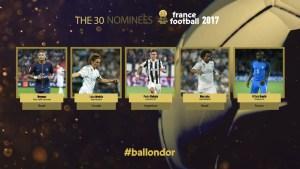 """boladeouro 300x169 - Três brasileiros estão entre os trinta finalistas da """"Bola de Ouro"""""""