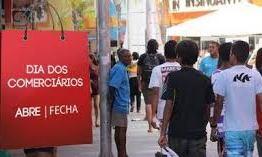 Confira o que abre e o que fecha no dia do comerciário em João Pessoa