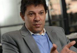 Haddad ignora petistas da Paraíba e causa revolta