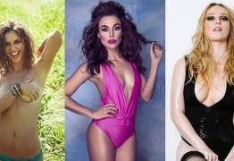 Atrizes que viverão prostitutas em novelas das 21h mostram sua beleza em ensaios sensuais