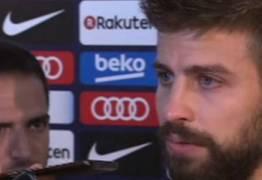 Piqué ameaça ficar fora da  seleção espanhola em nome da Catalunha