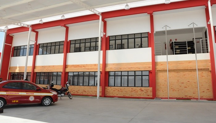 sede do novo batalhao do corpo de bombeiros em patos 2 - Ricardo inaugura novo prédio do Corpo de Bombeiros em Patos