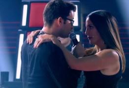 Ivete Sangalo 'beija' participante no 'The Voice'
