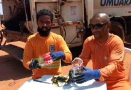 Garis viralizam na internet com vídeos de dicas sobre descarte correto de lixo