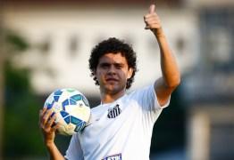 Jogador do Santos lança projeto social para garotos em João Pessoa