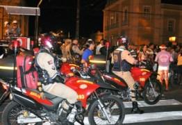 Corpo de Bombeiros realiza operação preventiva para a Romaria da Penha