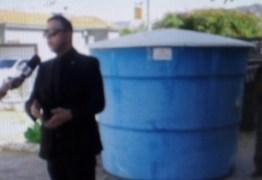 Juiz devolve à comunidade caixa d'água retirada por ex-vereador