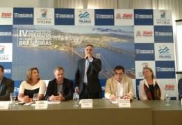 Cartaxo apresenta reforma do Centro Histórico em encontro com prefeitos