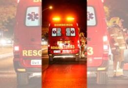 Ciclista morre após ser atropelada por ônibus
